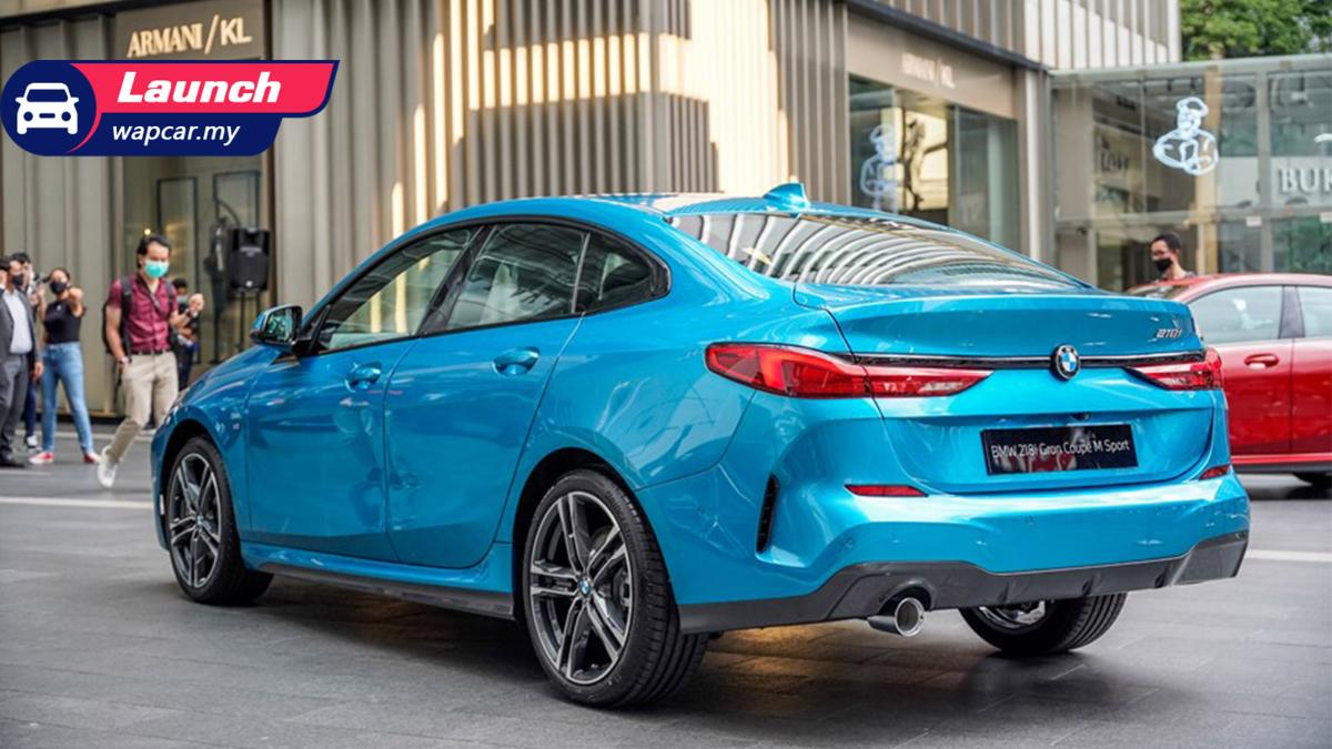 Locally-assembled 2020 BMW 218i Gran Coupe launched in Malaysia, from RM 211k 01