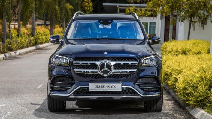 2020 Mercedes-Benz GLS 450 4Matic Exterior 003