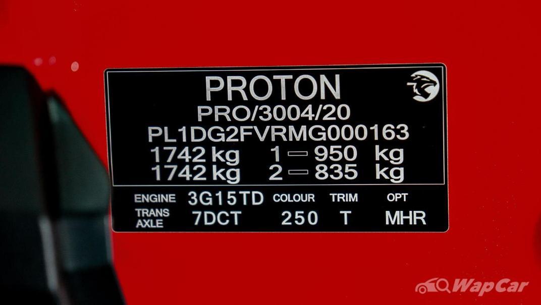 2020 Proton X50 1.5T  Flagship Interior 126