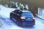 VIDEO: Naik Mercedes Benz tapi curi mangga rumah orang!