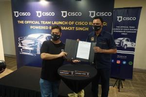 Karamjit Singh kembali ke sukan rali dengan Cisco Racing, janji akan masyurkan semula nama Malaysia