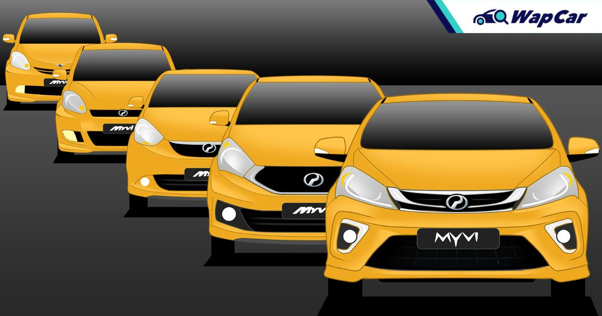 Evolution of the Perodua Myvi in 3 generations – Malaysia's most loved hatchback? 01
