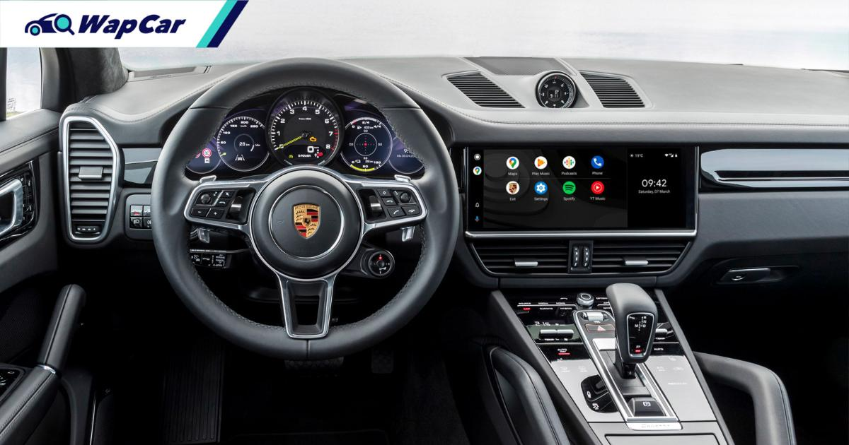 Porsche finally adopts Android Auto & Wireless Apple CarPlay in their PCM 6.0 01