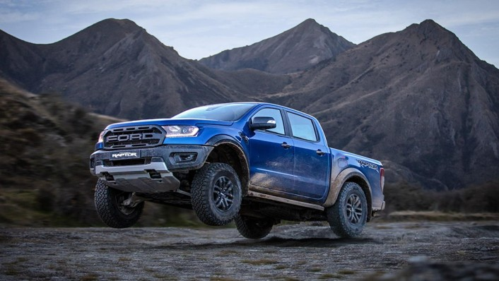 2020 Ford Ranger Raptor 2.0 Bi-Turbo Exterior 002