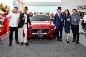 Volvo opens new showroom in Ipoh and already 250 customers have paid a visit!