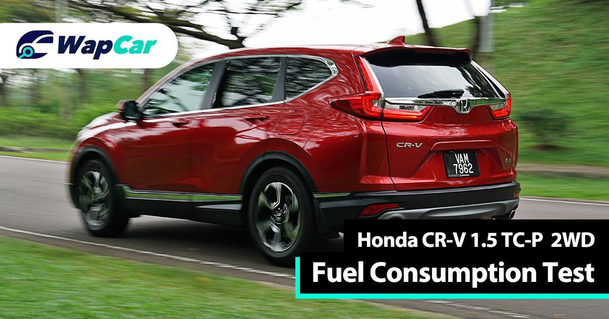 Ratings – Honda CR-V's fuel consumption, commendable score 01