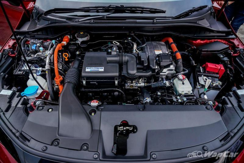 Honda City Hatchback e:HEV 2021 debut bulan ini di Thailand; hibrid i-MMD seperti City RS Malaysia 02