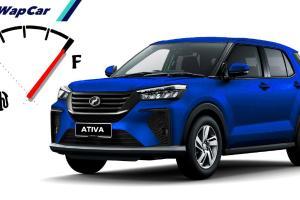 Perodua Ativa (D55L) 2021 lebih jimat minyak dari Proton X50 & Aruz, sehingga 680 km setangki!