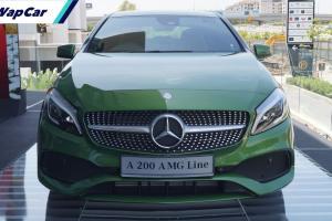 Mercedes-Benz A-Class W176: Antara hatchback tercantik kini serendah RM 119k, baloi angkat 'second hand'?