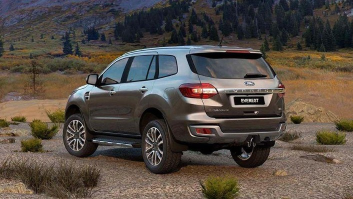 Ford Everest (2017) Exterior 008
