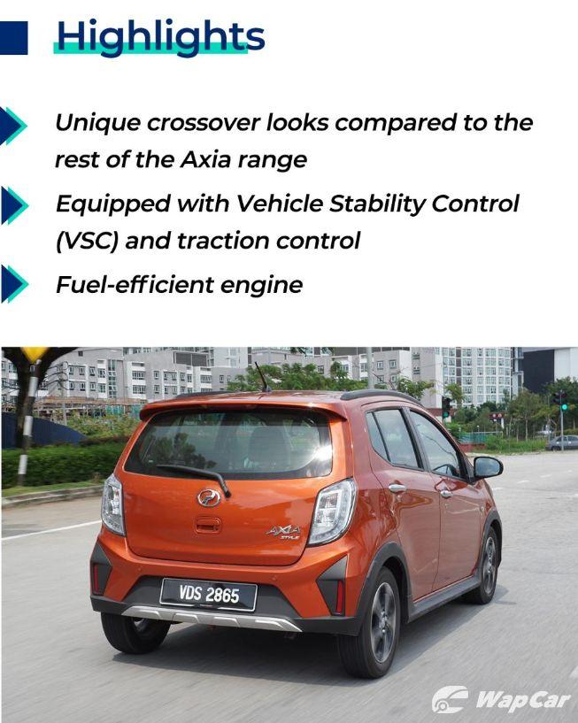 Perodua Axia Style highlights