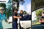 Bengang dilanggar Myvi, 4 samseng tunjuk gangster yang menaiki Honda Civic ditahan!