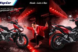 Honda Winner X Limited Edition 2021 dilancar di Vietnam. Tanpa ABS!