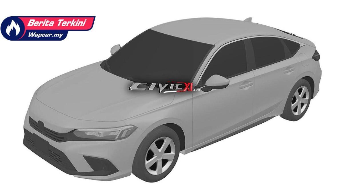Intipan: 2022 Honda Civic generasi baru. Rekaan imej yang lebih matang? 01
