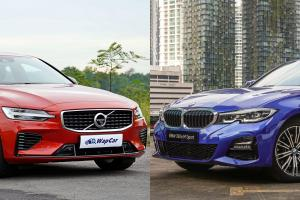 2020 BMW 330e vs 2020 Volvo S60 T8 - Which is the better plug-in hybrid?