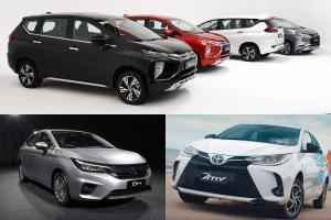 Same price, more seats, 2020 Mitsubishi Xpander vs City vs Almera vs Vios