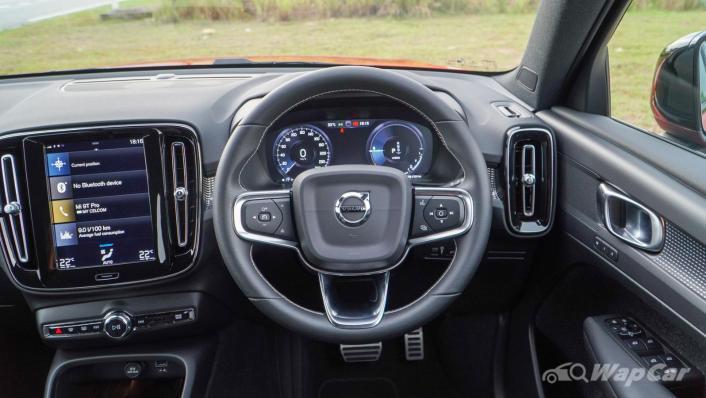 2021 Volvo XC40 Recharge T5 R-Design Interior 003
