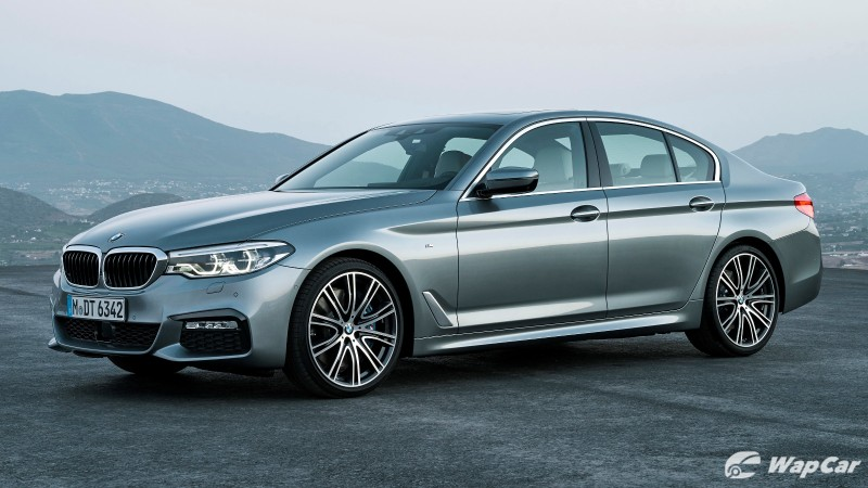 Leaked: Check out the 2020 (G30) BMW 5 Series facelift in M Sport trim 02