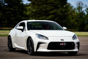 First tofu delivery practice for the Toyota GR86 at 2021 Goodwood Festival of Speed!