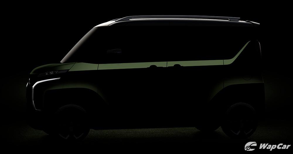 Mitsubishi Super Height K-Wagon teaser