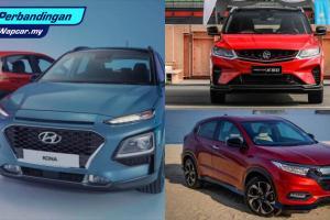 Hyundai Kona 2020 lebih berbaloi daripada Honda HR-V dan Proton X50?