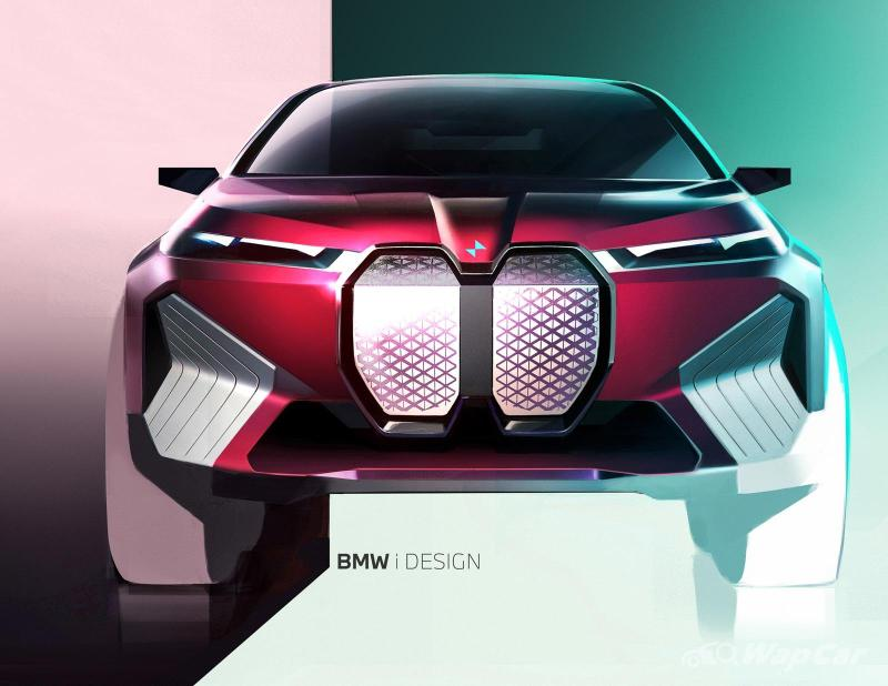 2021 BMW iX teased; 500 PS electric SUV coming to Malaysia 02