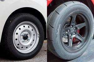 Are wider tires better for your car or just plain stupid?