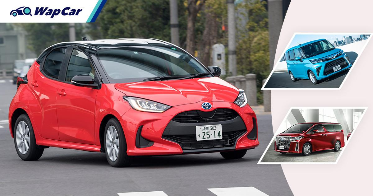 Toyota takes top 6 spots in Japan's H1 2021 sales, Honda only 9th 01