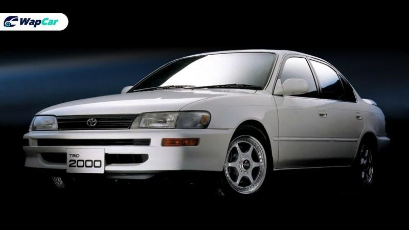 Toyota Corolla TRD 2000: 10 unit sahaja di dunia! Rare atau gagal? 01