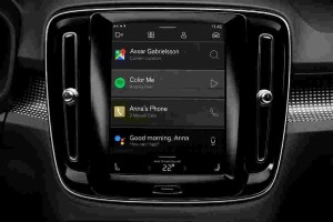 Volvo XC40 EV's infotainment system is better than your smartphone