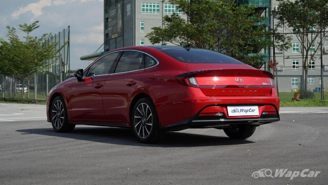 2020 Hyundai Sonata 2.5 Premium Exterior 007