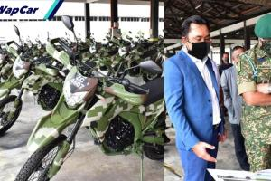 TDM dapat aset baharu perkasa Op Benteng, motosikal scrambler WMoto SXR 300 cc!