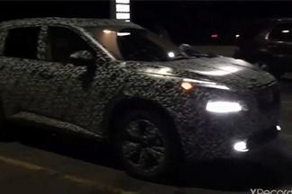 All-new 2021 Nissan X-Trail spyshots - full LED headlights, 1.5-litre hybrid