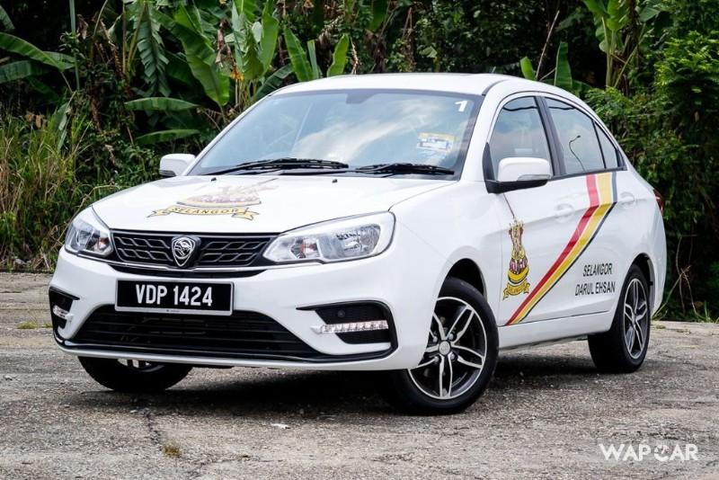 2020 Proton Saga Facelift Exterior