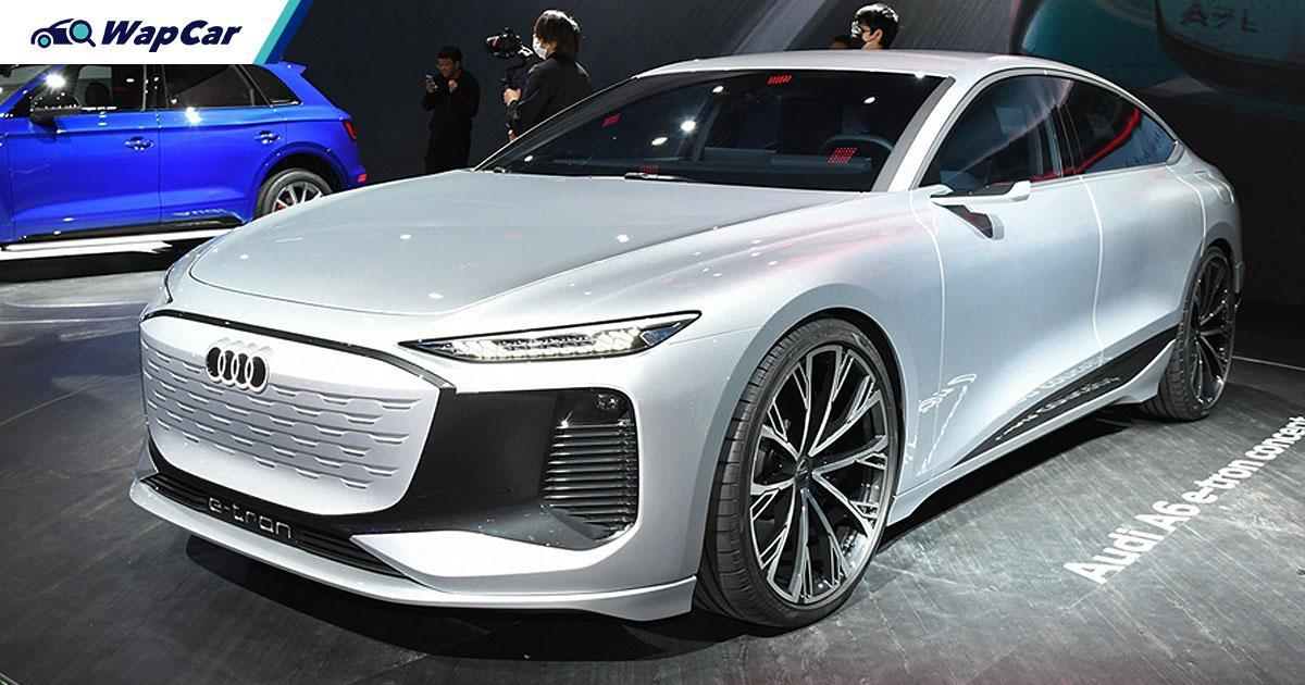 Built on evolved Taycan platform, Audi A6 e-tron concept debuts at 2021 Shanghai Auto Show 01
