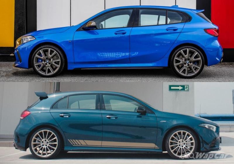 Mercedes-AMG A35 2020 vs BMW M135i (F40) – hot hatch mana lagi padu? 02