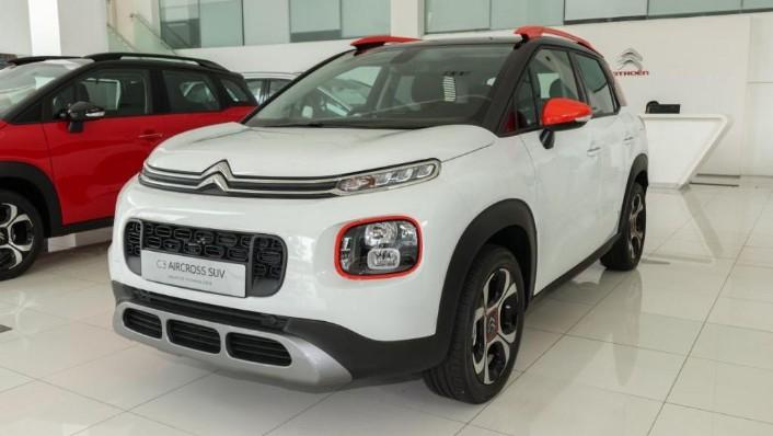 2019 Citroën New C3 AIRCROSS SUV Exterior 001