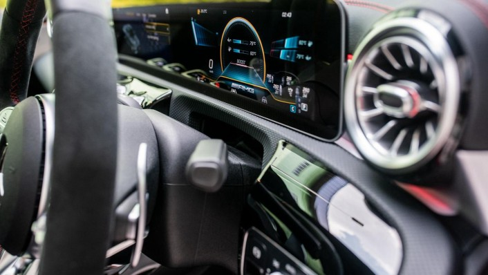 2020 Mercedes-Benz AMG CLA 45 S Interior 006