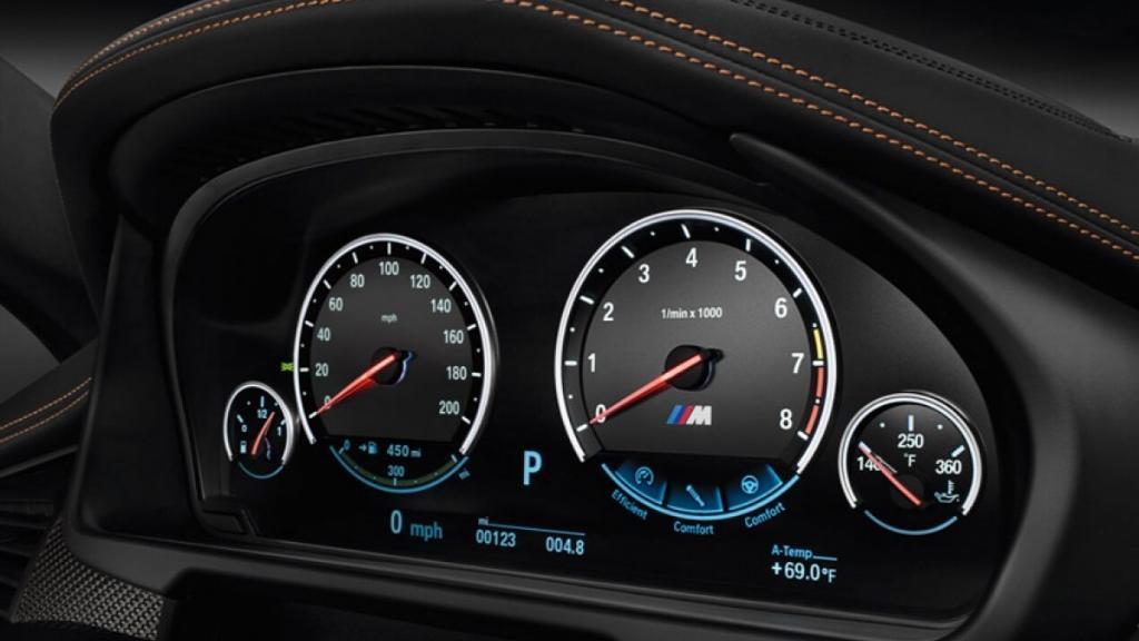 BMW X6 M (2019) Interior 002