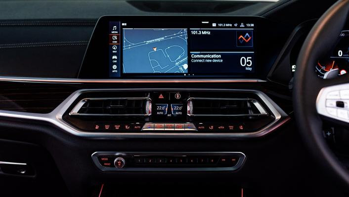 2021 BMW X7 xDrive40i Pure Excellence Interior 007