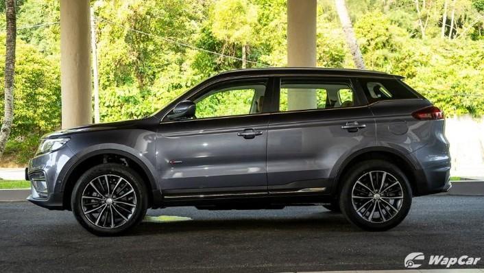 2020 Proton X70 1.8 Premium 2WD Exterior 009