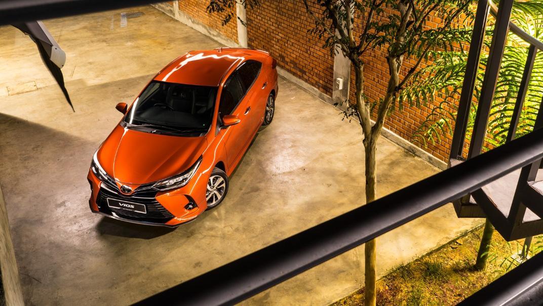 2021 Toyota Vios 1.5E Exterior 008