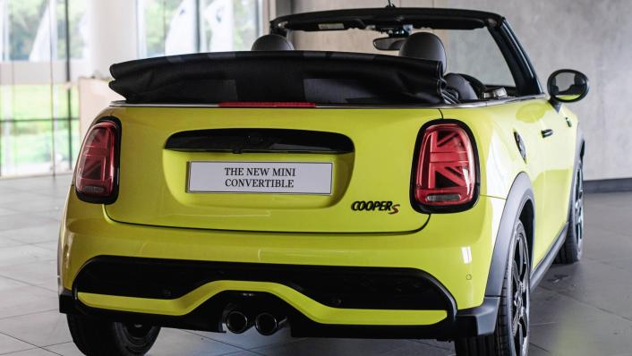 2021 MINI Convertible Cooper S Exterior 005
