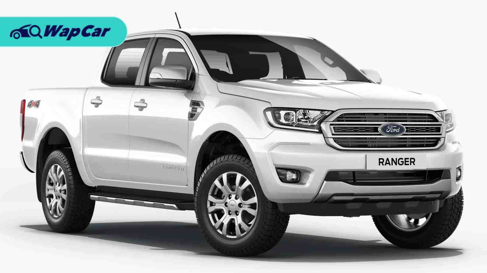 Ford Ranger XLT Plus facelifted in Malaysia! RM 129,888, new front design 01