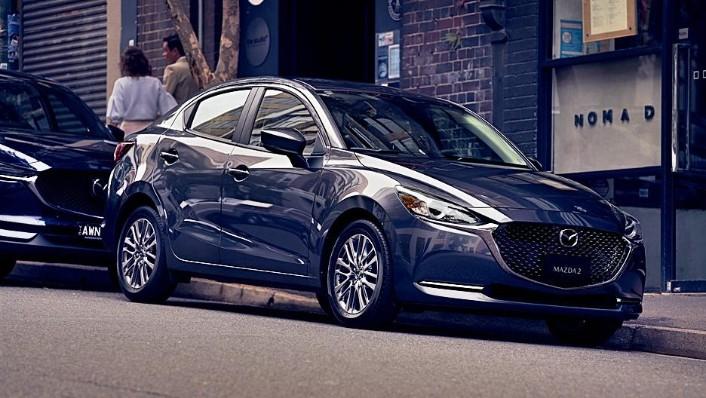 2020 Mazda 2 Sedan Public Exterior 002