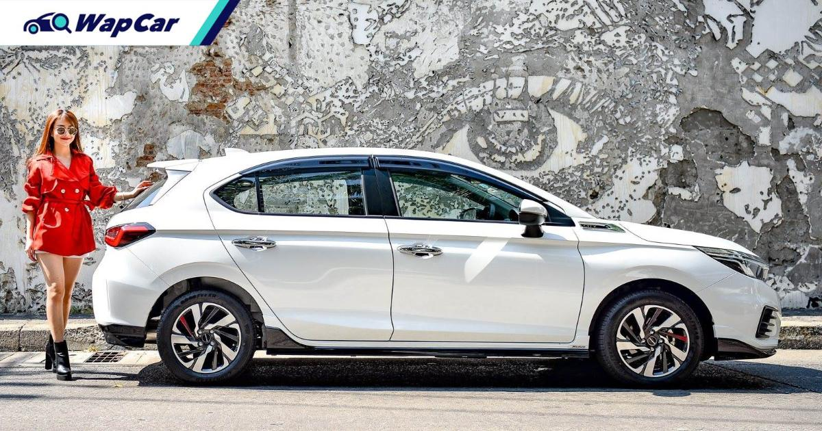 Think the 2021 Honda City Hatchback looks weird? There's a good reason why 01