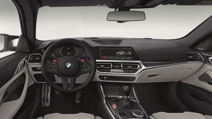 2021 BMW M4 Competition Coupe Interior 001