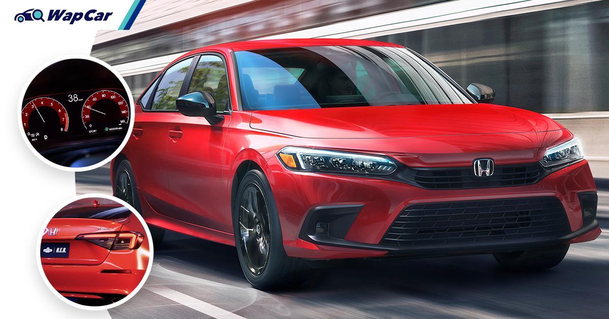 11th-gen, all-new 2022 Honda Civic (FE-series) debuts - looks like a downgrade? 01