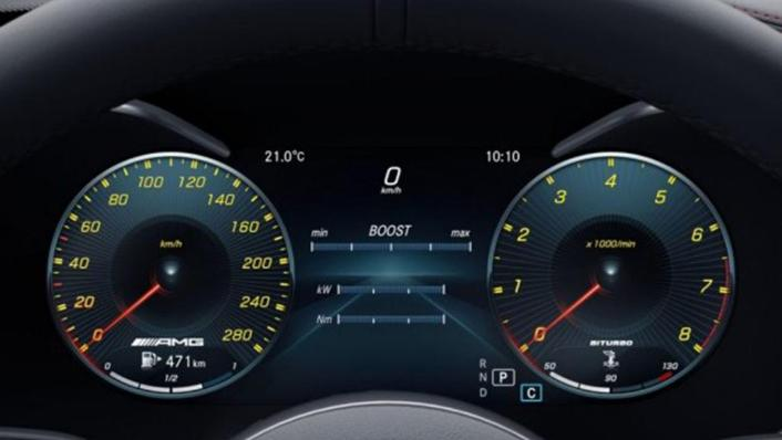 2018 Mercedes-Benz AMG C-Class Coupe AMG C 43 4MATIC Interior 004