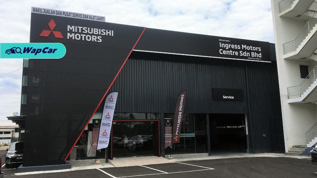 Bilik pameran Mitsubishi Motors terbaru dibuka di PJ, Selangor! 01